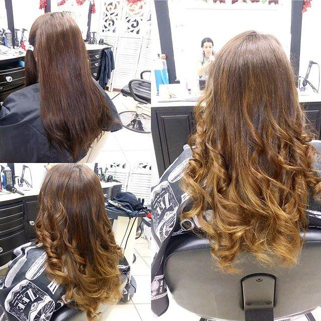 Subtle Balayage done by Dita yesterday at our annadale location !! #beforeandafter #balayage #hair #behindthechair #lookgoodfeelgood #hairexpress #haironearth #welovehair
