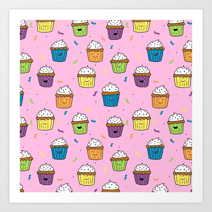 cute-happy-fun-cupcakes-with-pink-background-prints.jpg