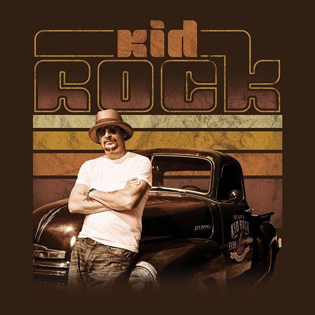 Approved design for Kid Rock. #kidrock #americanbadass #rockandroll #rockstar #tour #concert #tourmerch #concerttshirt #vintagestyle #retrostyle #merch #music #kidrockkrazy #kidrockconcert #kidrockfan #kidrockfans #tour2019 #tshirt #tshirtdesign #tshirtprinting #design #designlife #screenprinting