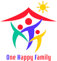 one happy family logo