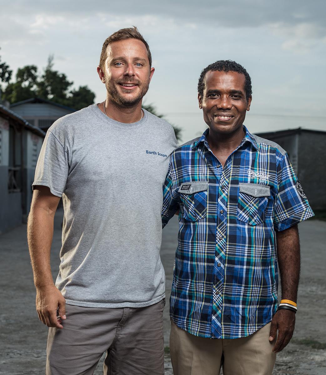 Pastor Stuart West (left) & Pastor Kelly Fleury (right)