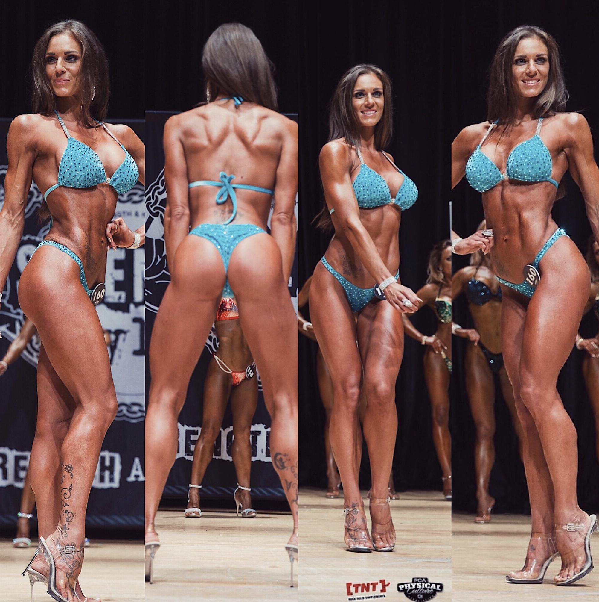 Laura Baker PCA Bikini Toned Competitor