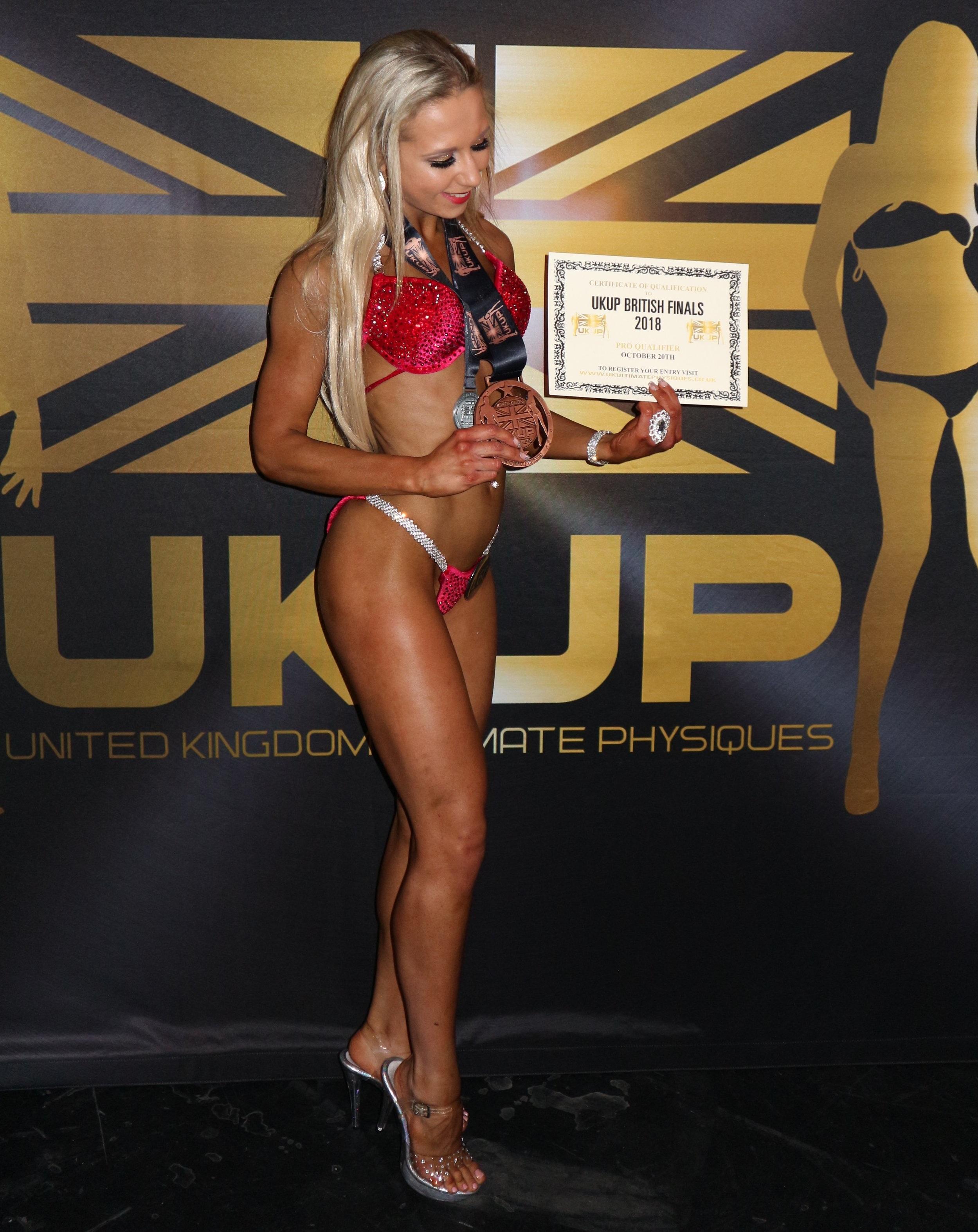 UKUP Bikini Competitor Bodypower