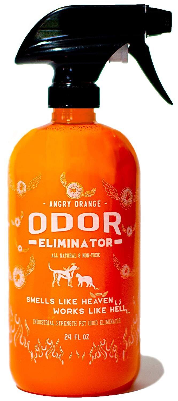 ANGRY ORANGE 24 oz Ready-to-Use Citrus Pet Odor Eliminator Pet Spray