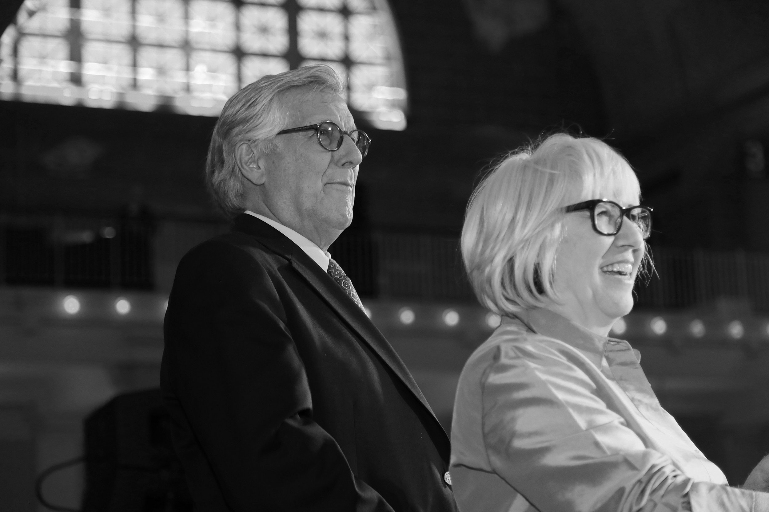 Richard and Dixie Galloway at the New York City Relief Gala, 2017.