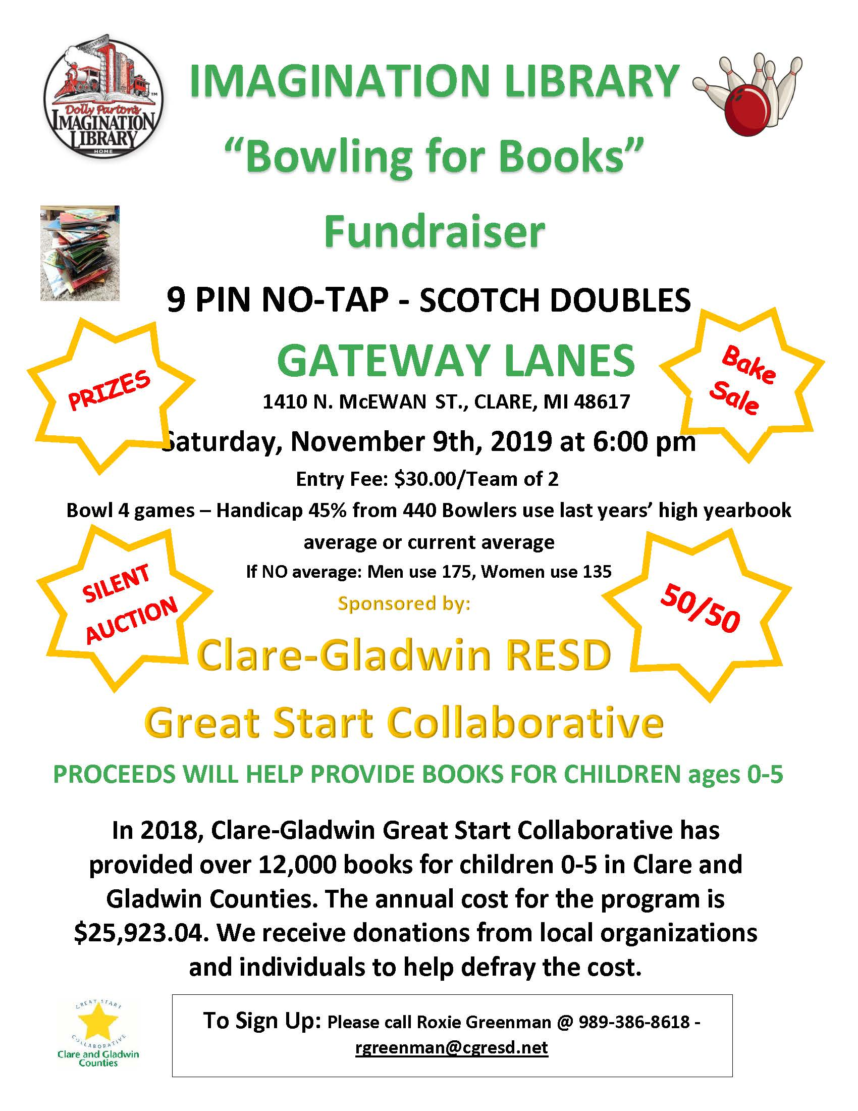 Clare Imagination Library bowling benefit 2019 revised.jpg