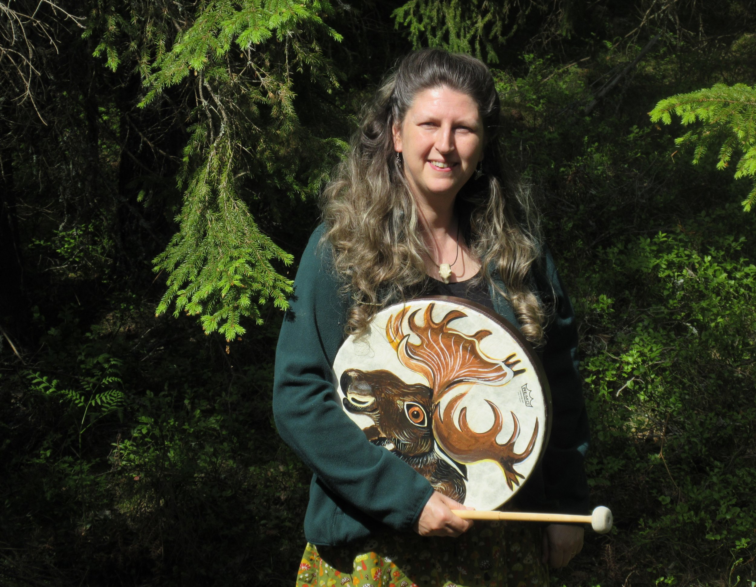 Imelda Almqvist  is an international teacher of shamanism and sacred art.  Her book   Natural Born Shamans: A Spiritual Toolkit For Life -Using Shamanism Creatively with Young People of All Ages  was published by Moon Books in 2016.