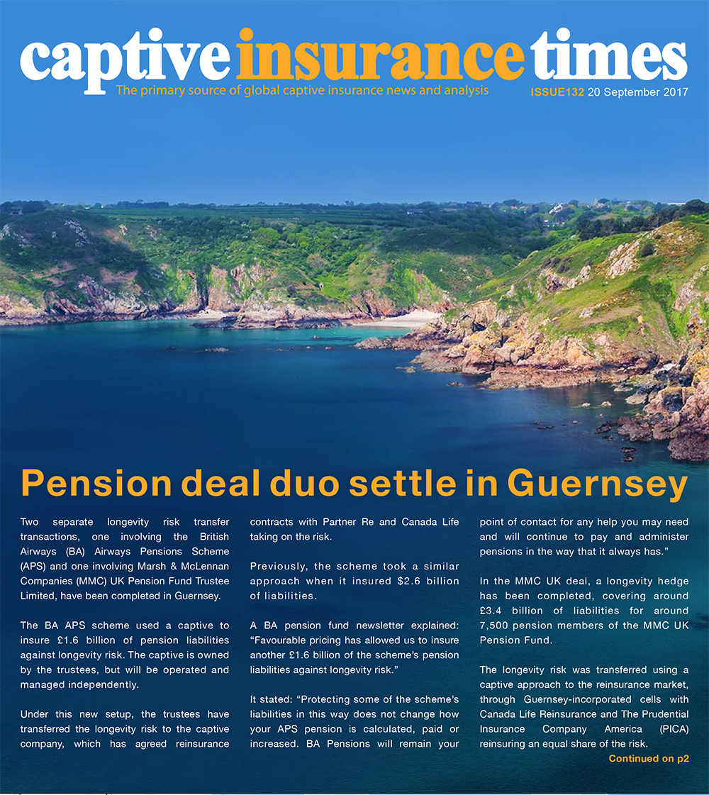 Captive Insurance Times - Issue 132