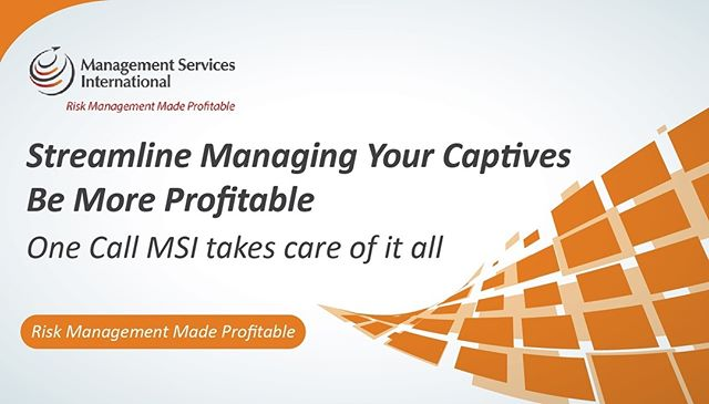With our efficient back-office capabilities, you can streamline managing your captive insurance company and make it more profitable for you, with no additional effort required. Visit TheMSICorp.com to learn how. 🌐 - Tags: #CaptiveInsurance #insurance #risk #riskmanagement #riskmgmt #WhyMSI #insurancenews #business #finance #professionalservices #tax #taxlaw #taxes #risksolutions #privateinsurance #cic #nccia #IRS #smallbusiness #management