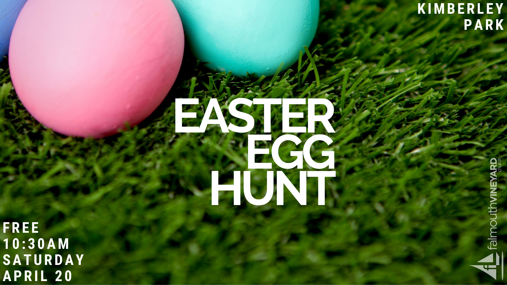 Falmouth Easter Egg Hunt Kimberley Park April 20th 2019