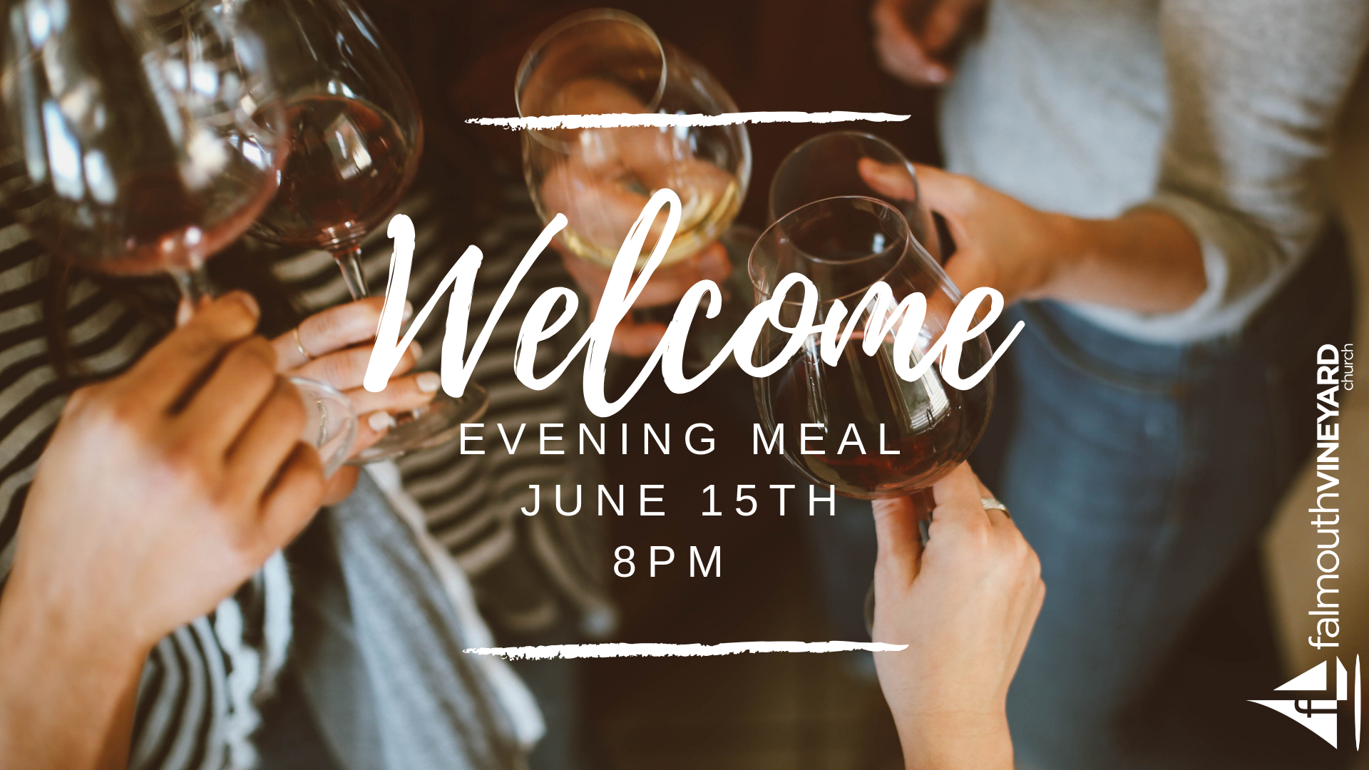 Falmouth Vineyard Welcome Meal June 2019