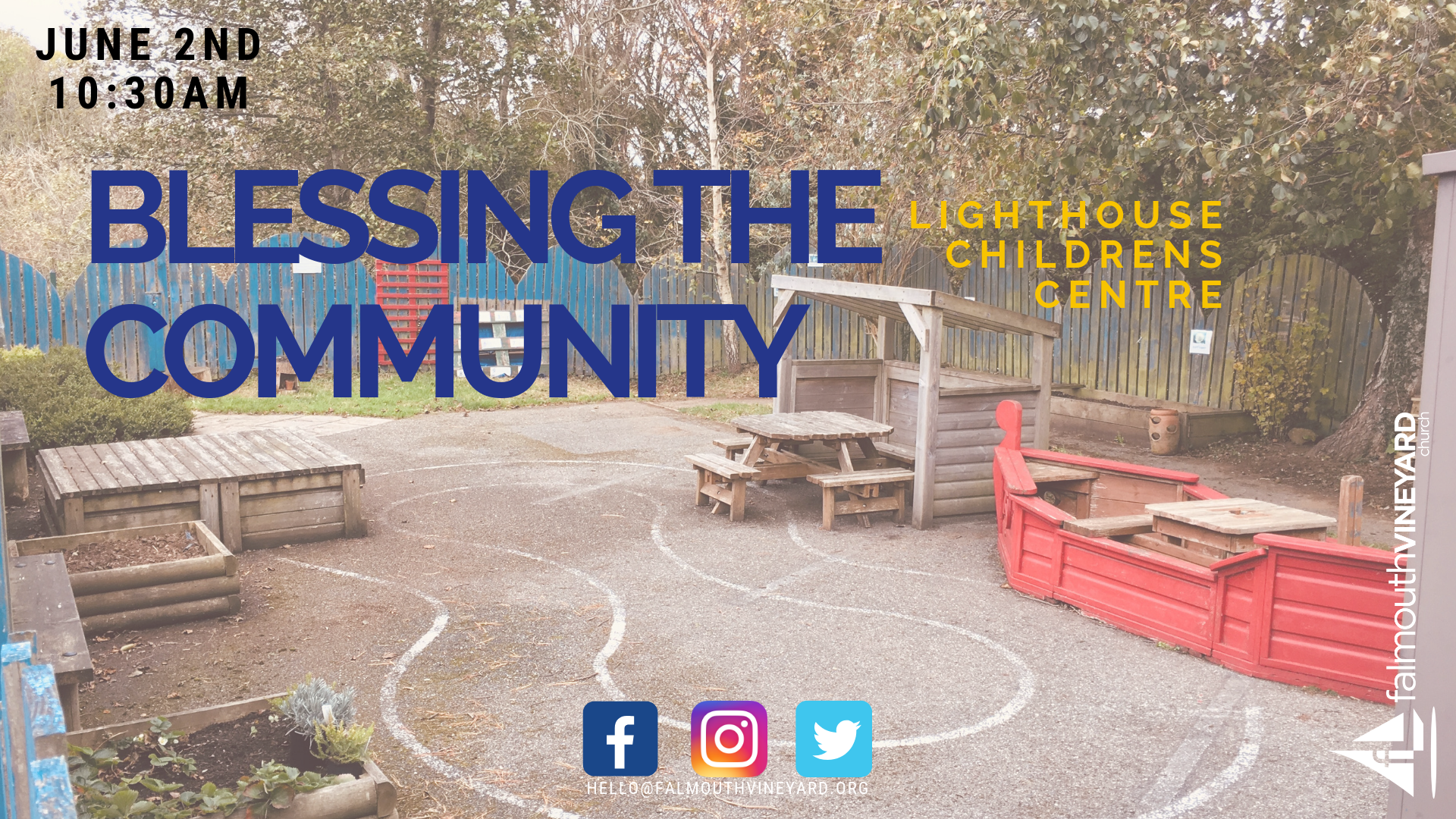 Falmouth Vineyard Lighthouse Childrens Centre 02.06.19