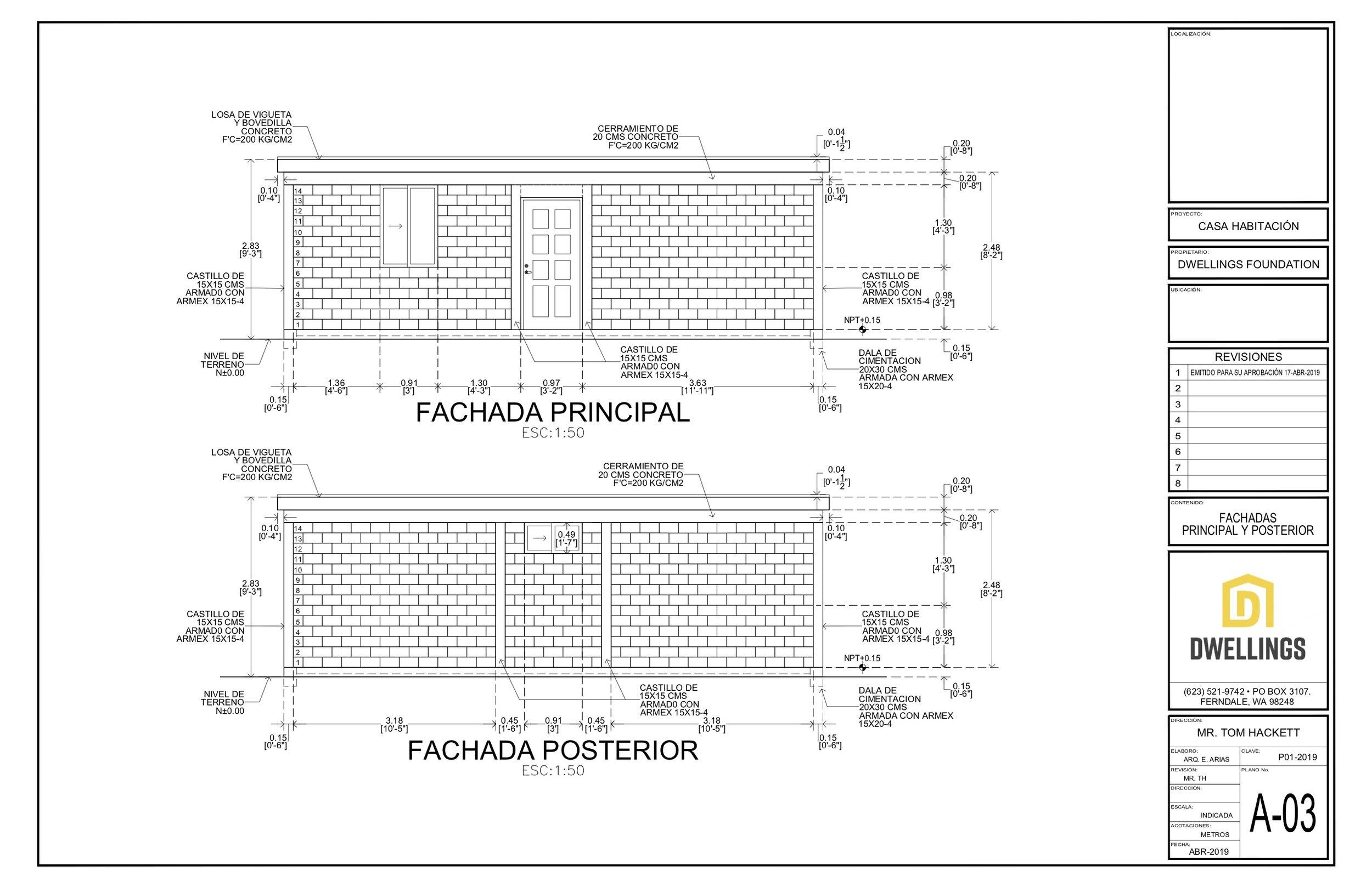 A-03 Fachada Principal y Posterior.jpg