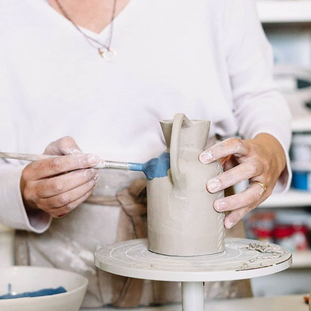 Hands on some new pieces! This is how I most enjoy working, always thinking of new things 🙌🏻