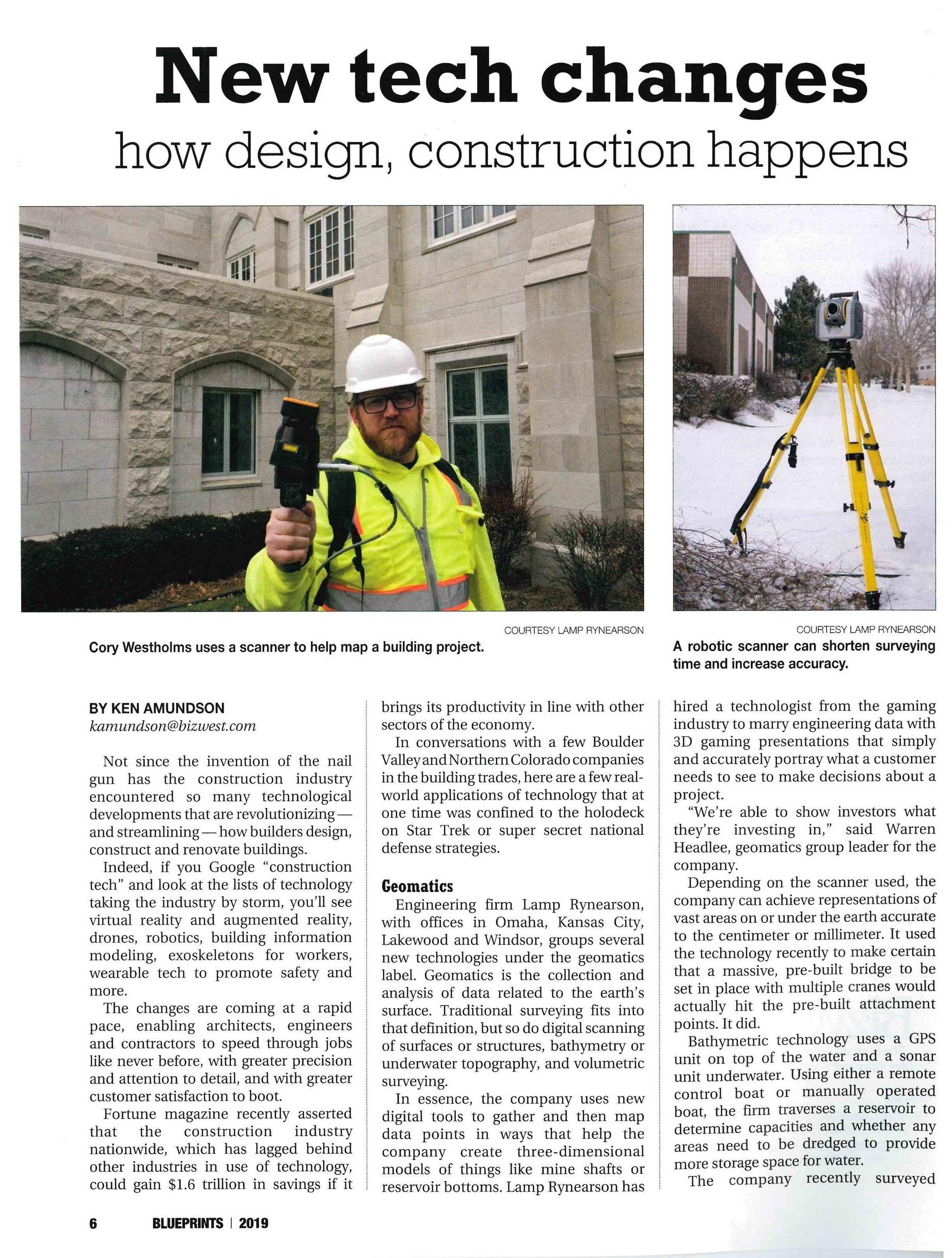 New Tech Changes: How Design, Construction Happens — Rodwin