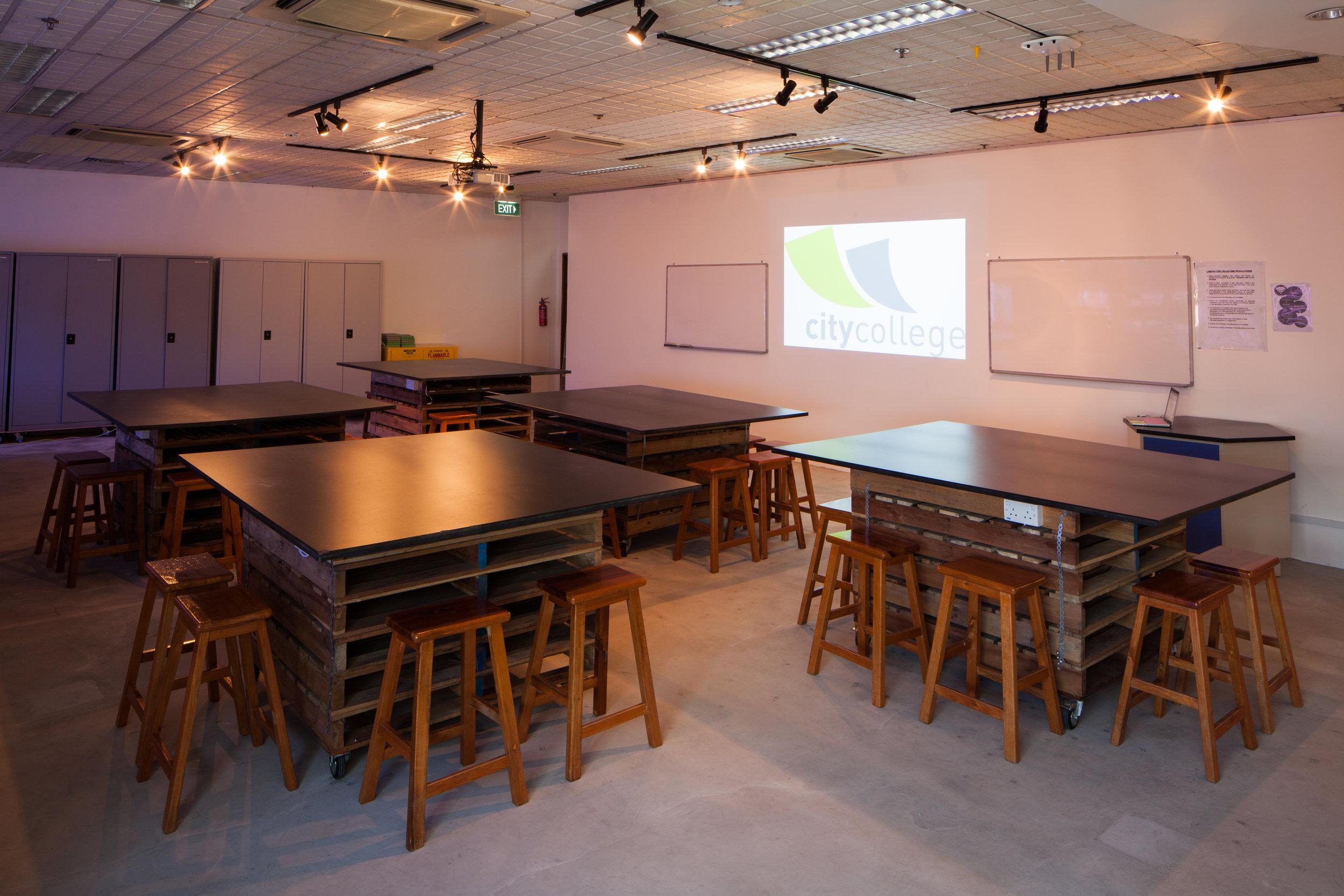 Learning Room 1 (max capacity 30)