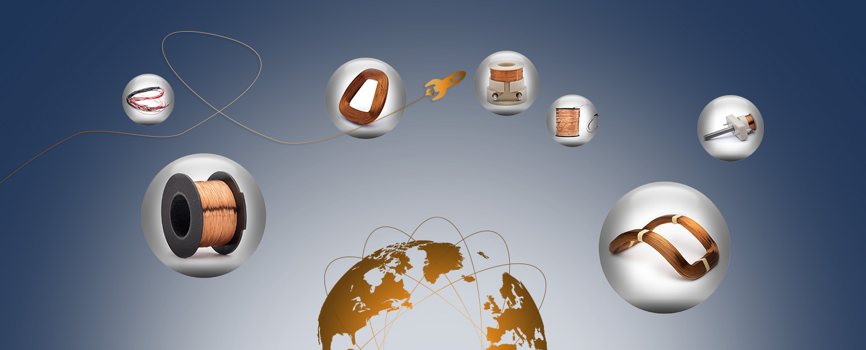 恩斯迪 线圈技术 在全球经营...