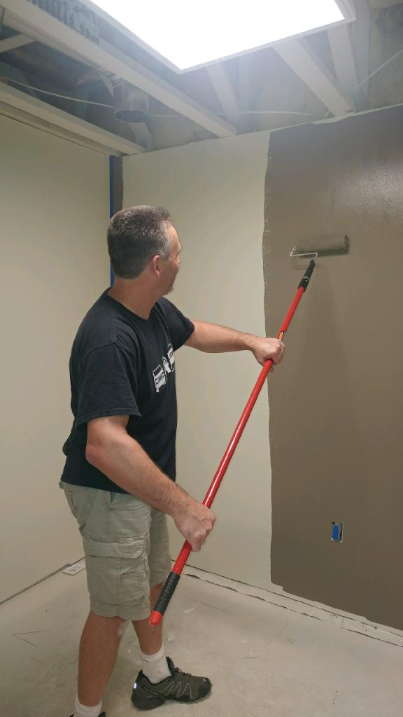 Craig Volk helped paint the space. Thanks Craig!