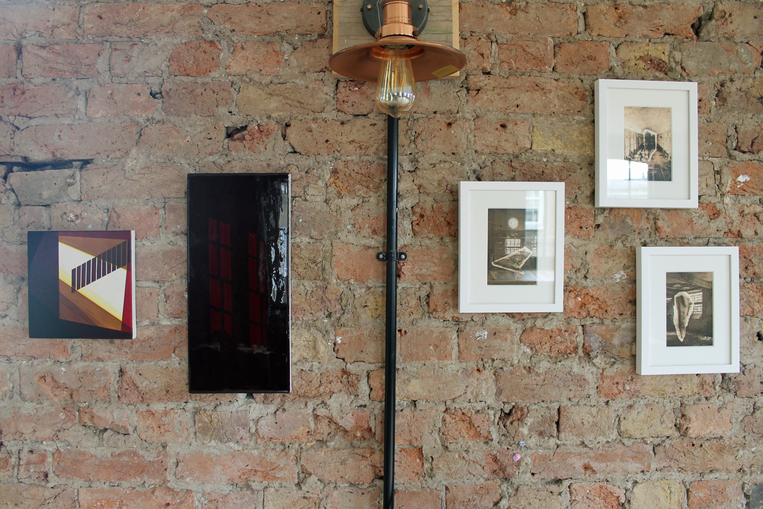 Installation view (pieces by Molly Behagg)