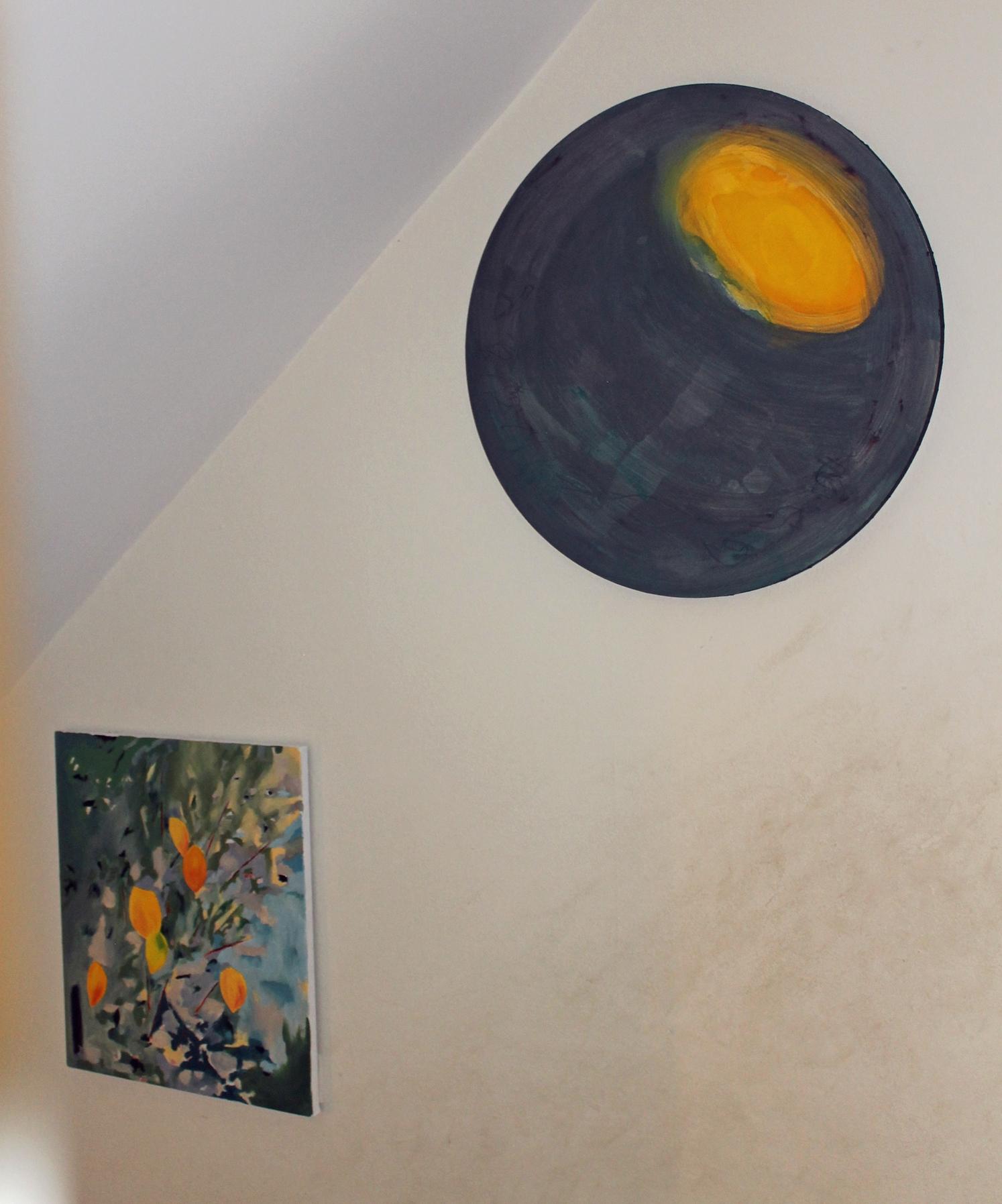Installation view (Cornus & Lost in translation by Diana Palmer)