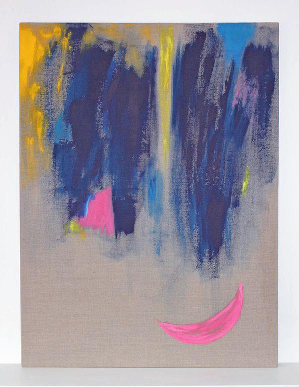 The Light (pink crescent), 2015