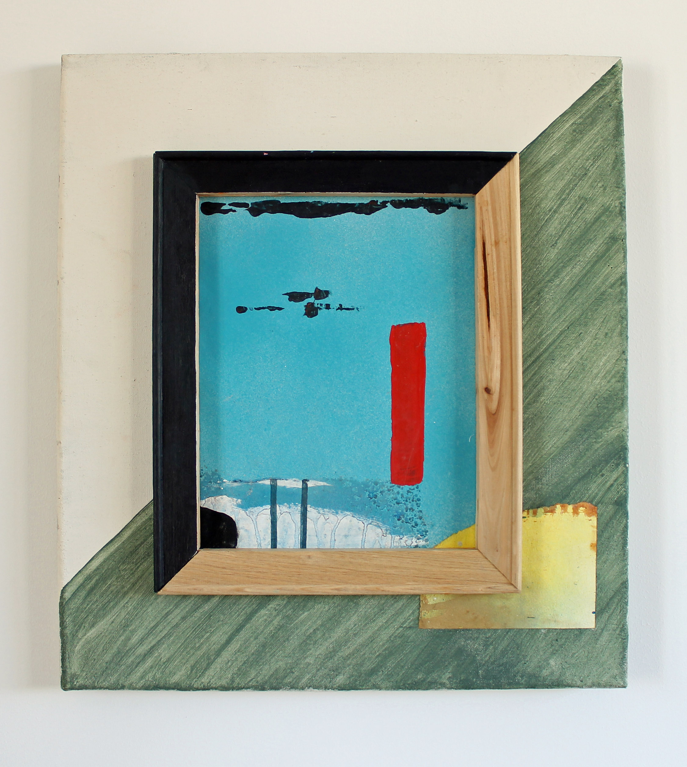 Frame painting, 2014