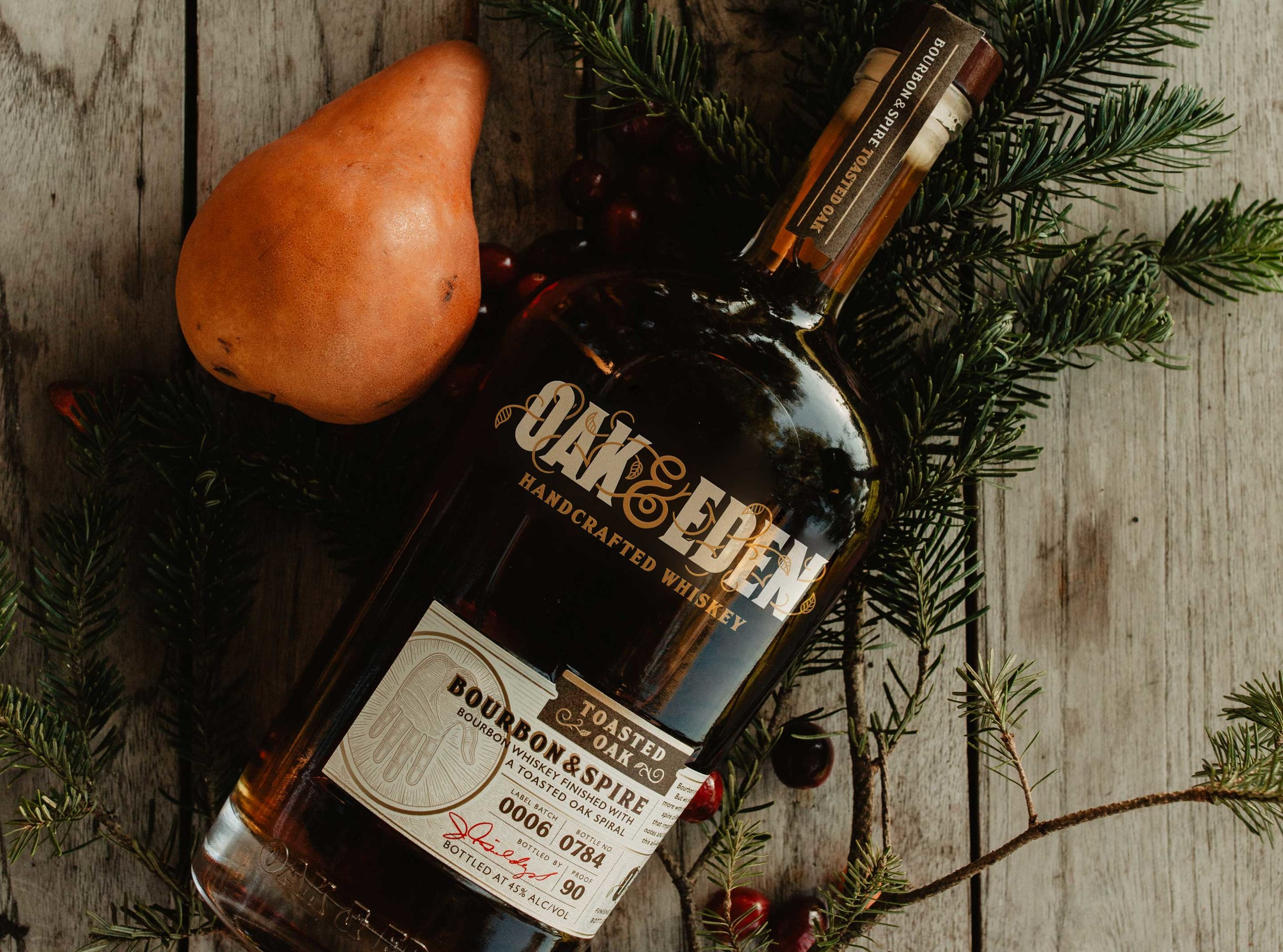 Oak & Eden Christmas 2018 Cocktail Recipes