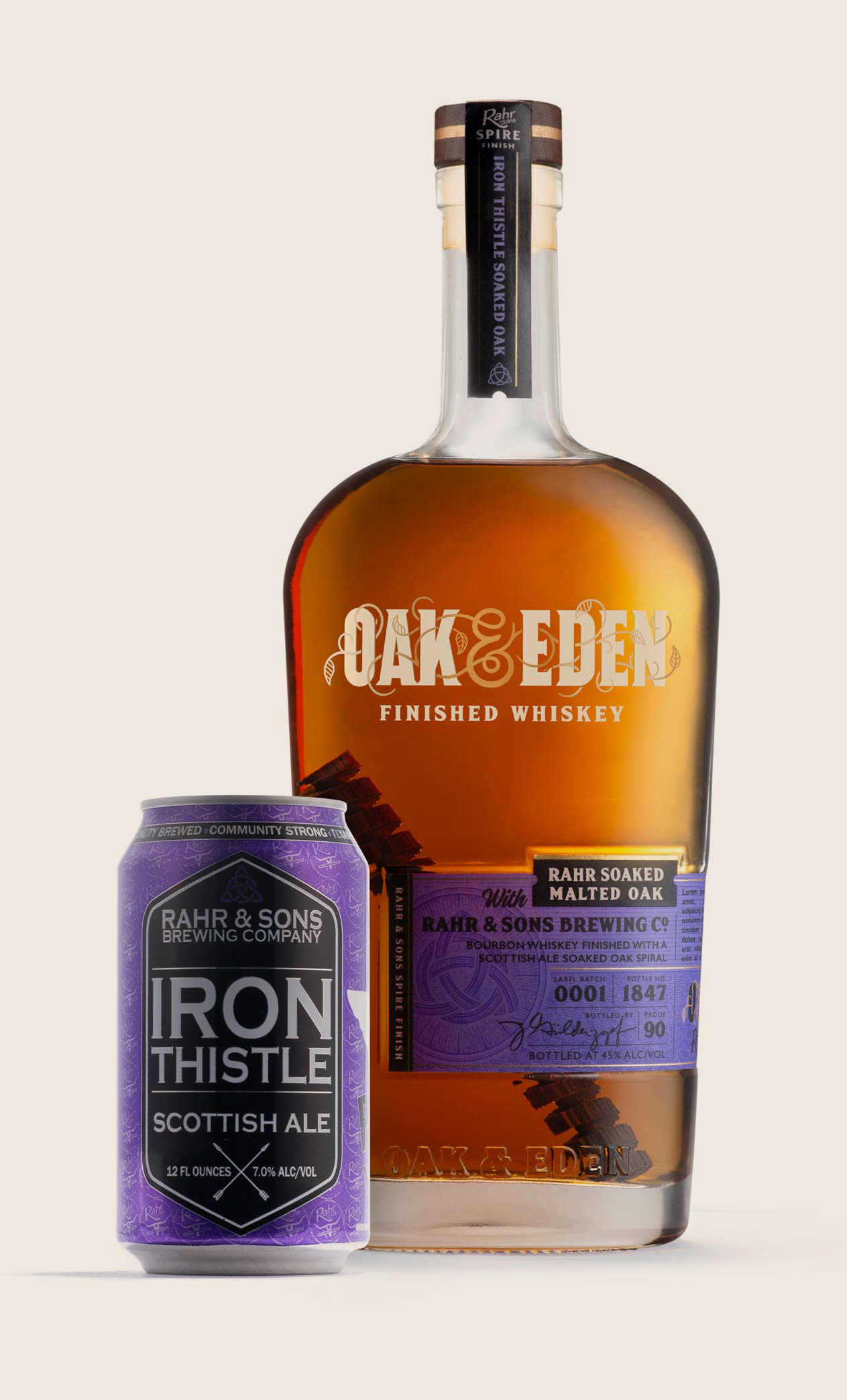 Oak & Eden Rahr & Sons Iron Thistle