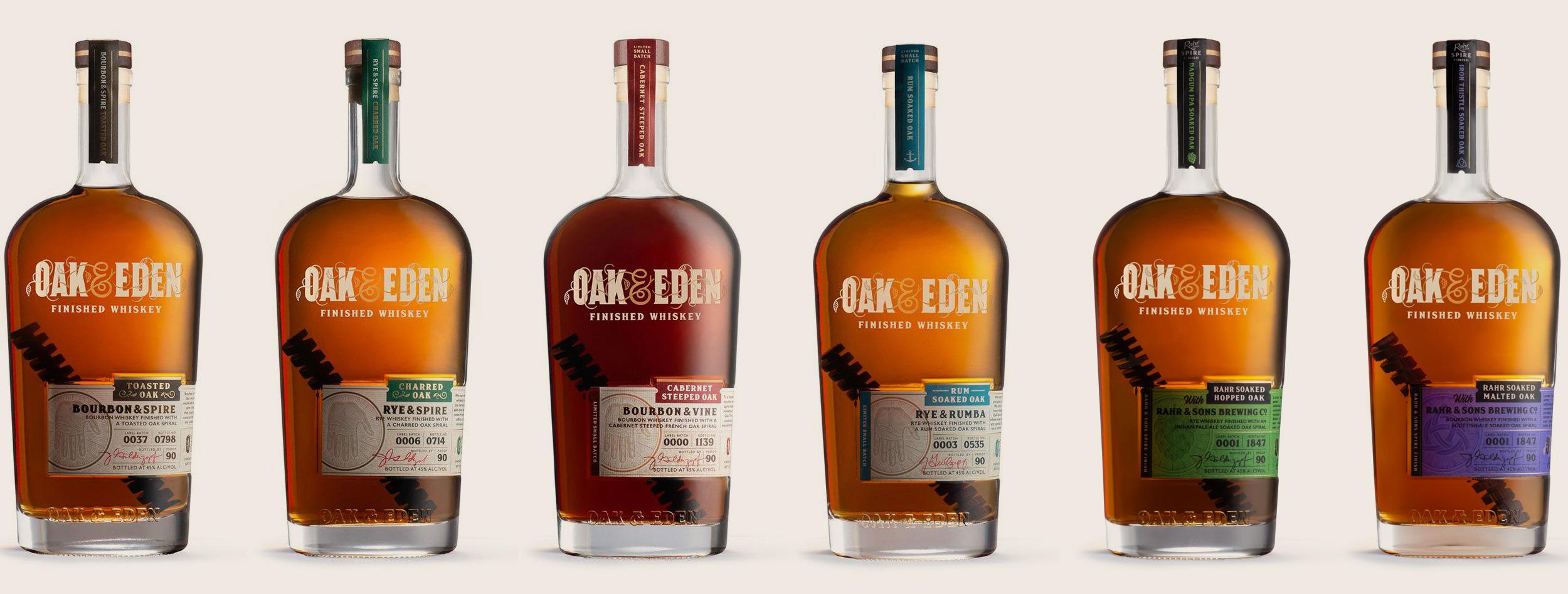 Oak & Eden Whiskey Family