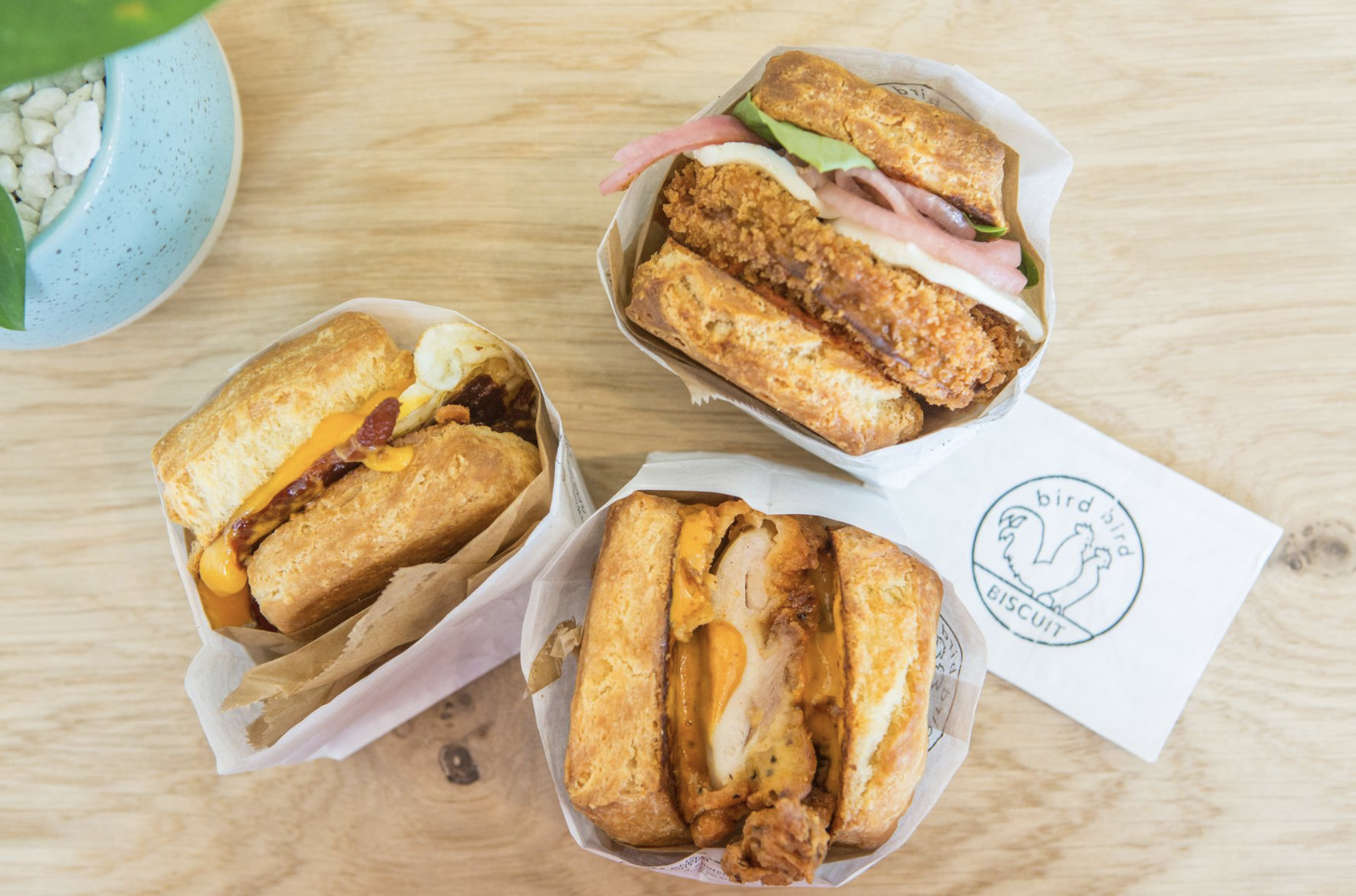 Eater Austin  The Early Word on Morning Sandwich Shop Bird Bird Biscuit
