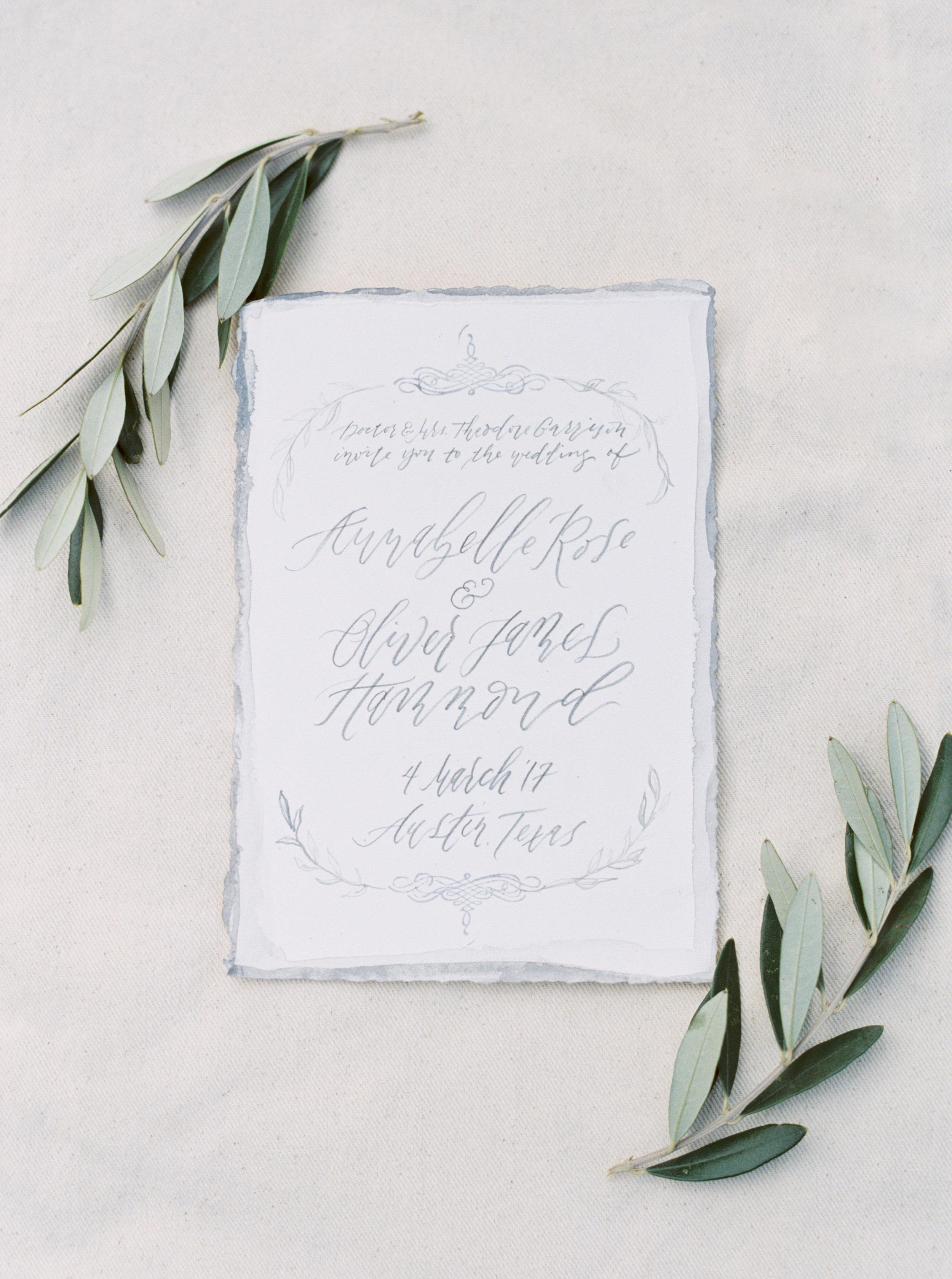 italian invitation suite austin wedding photographer jenna mcelroy
