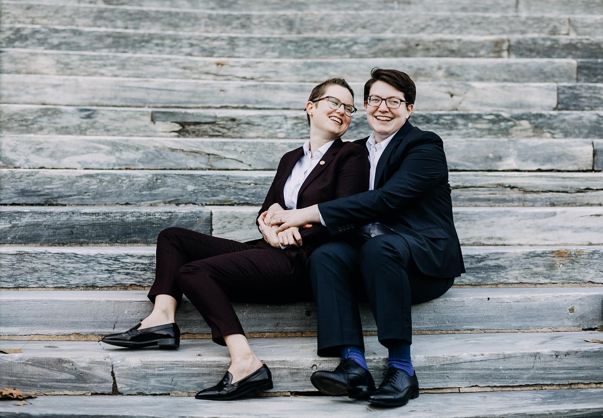 LIZ & TERESA - HOTEL MONACO WEDDING | PHILADELPHIA