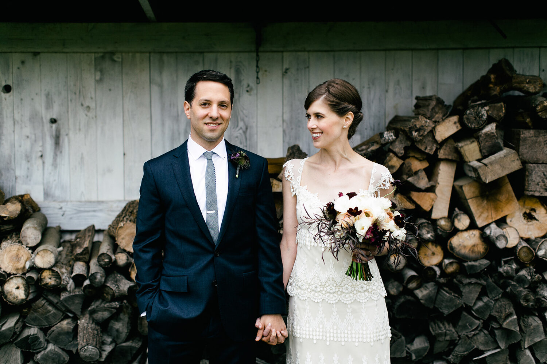 SARAH & MICHAEL - VINTAGE FARM WEDDING | NEW HOPE