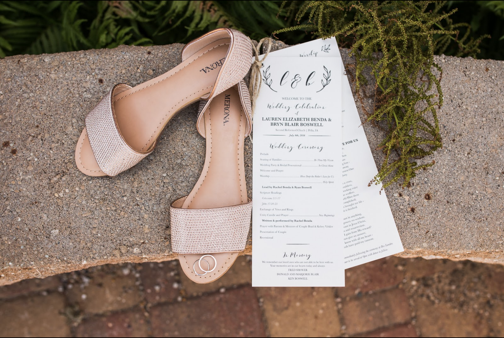 THE ULTIMATE WEDDING PROGRAM CHECKLIST