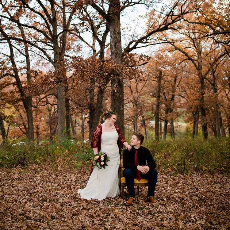 Des Moines Fall Styled Wedding Shoot