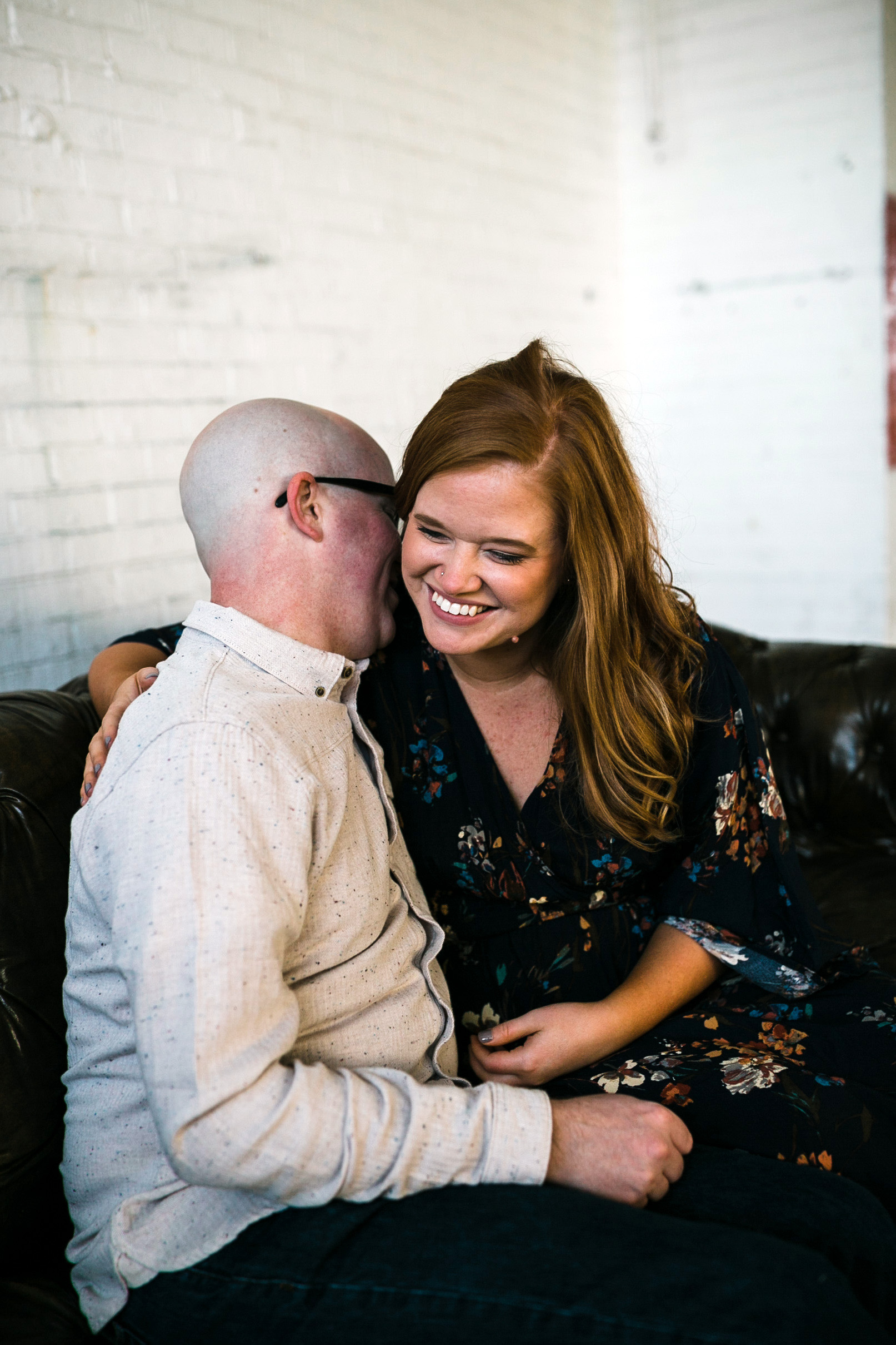 Des Moines Engagement Photographer