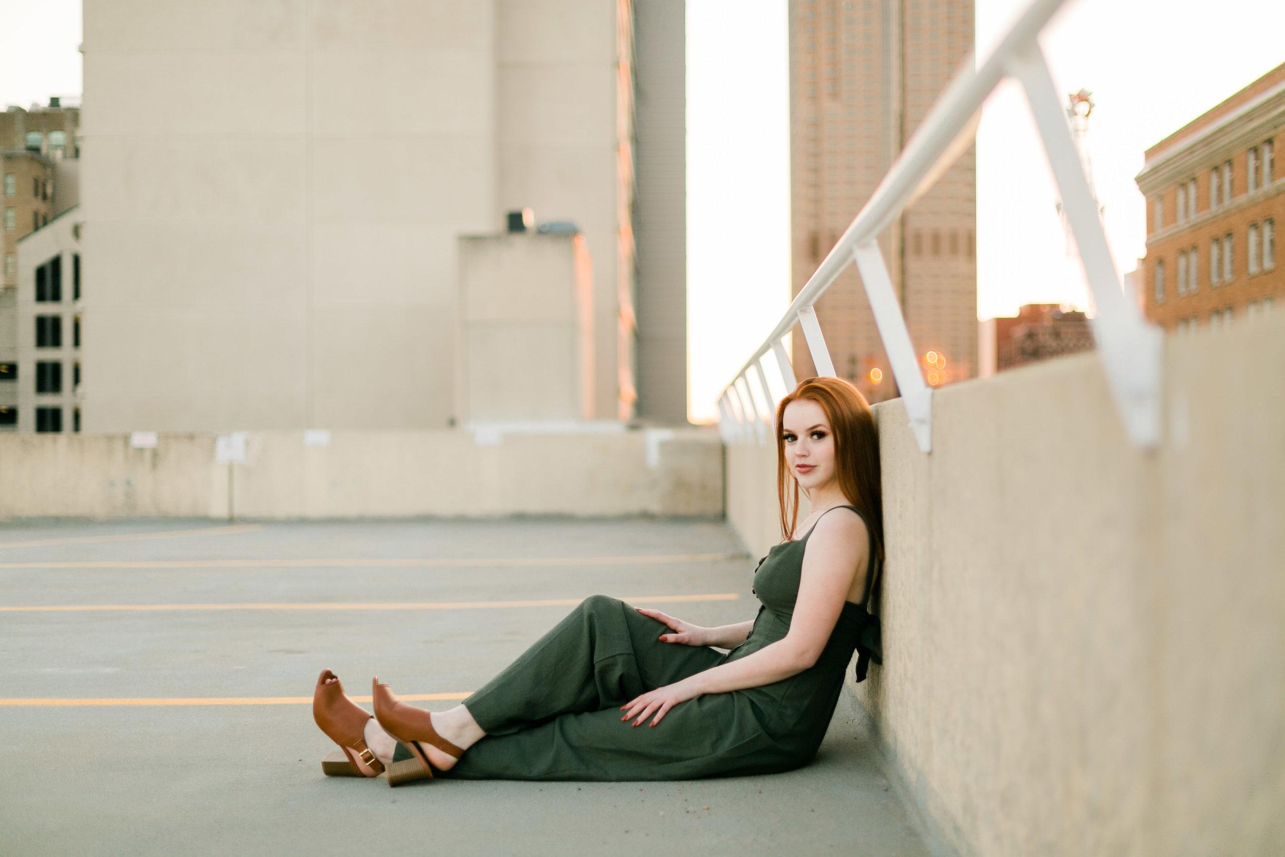 Des Moines Senior Photographer