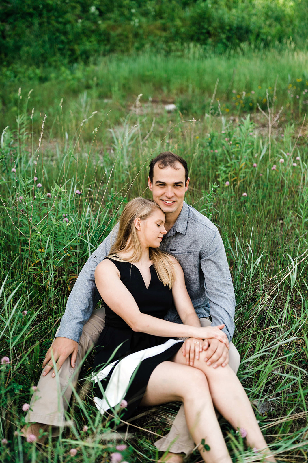 Decorah Iowa Engagement Photographer
