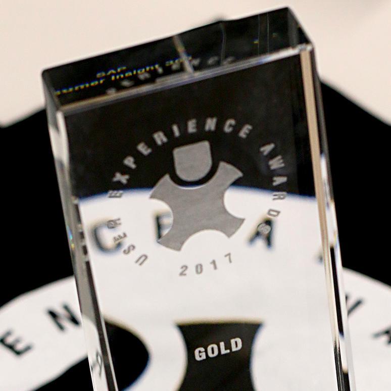 2017 UX Award – Gold