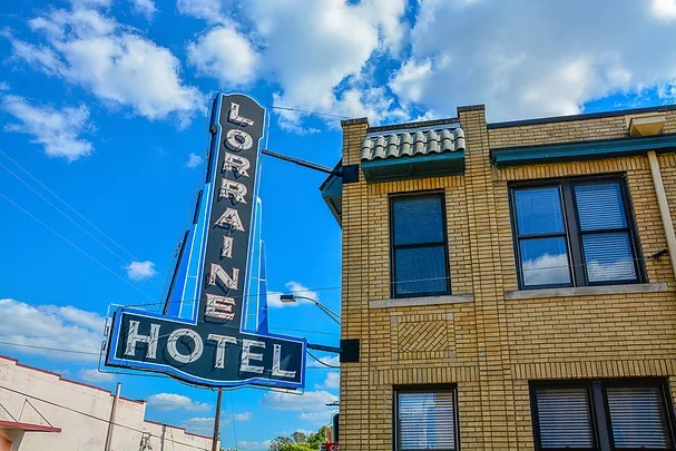 The Lorraine Hotel, where Martin Luther King, Jr. was assassinated. Memphis, TN