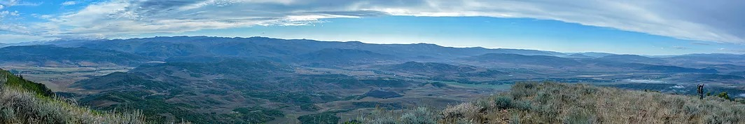 Panoramic view of Routt County