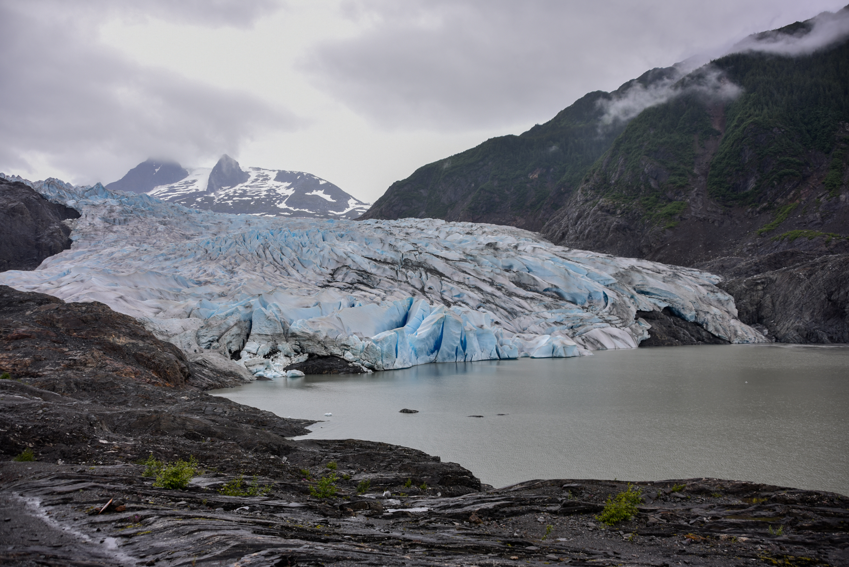 The Mendenhall Glacier in Alaska; not Antarctica. But these days, who knows?