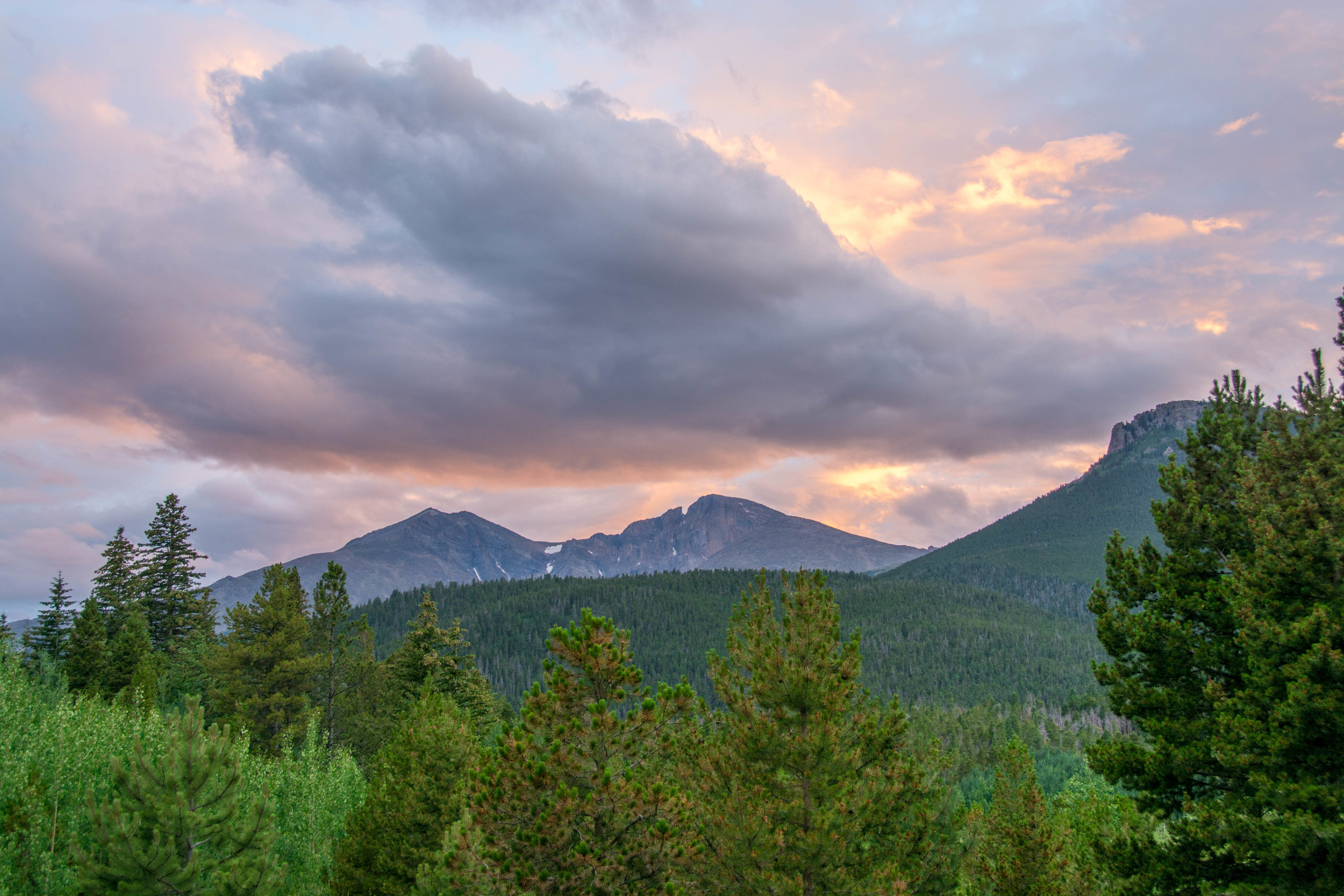 Long's Peak, CO