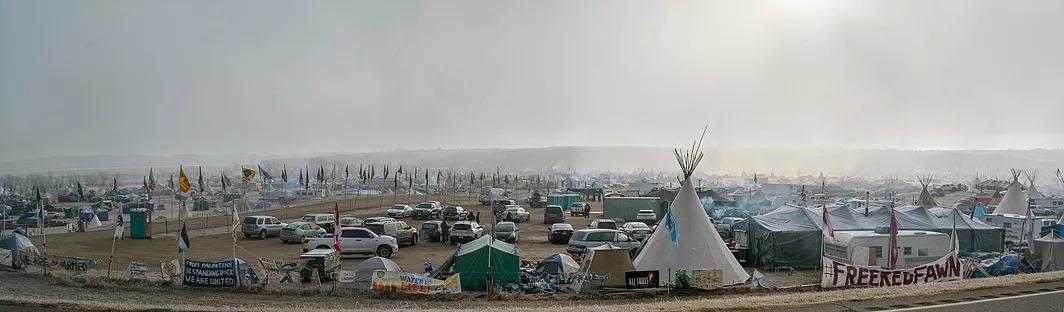Oceti Sakowin camp
