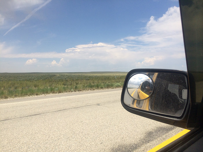 Somewhere in Wyoming…