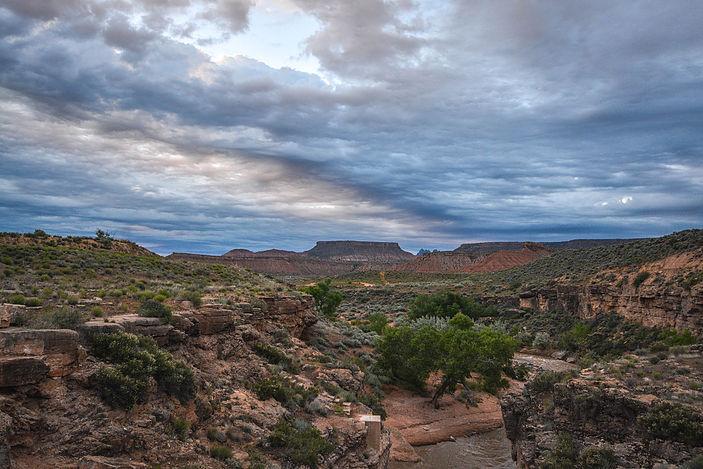 BLM land outside of Springdale, Utah