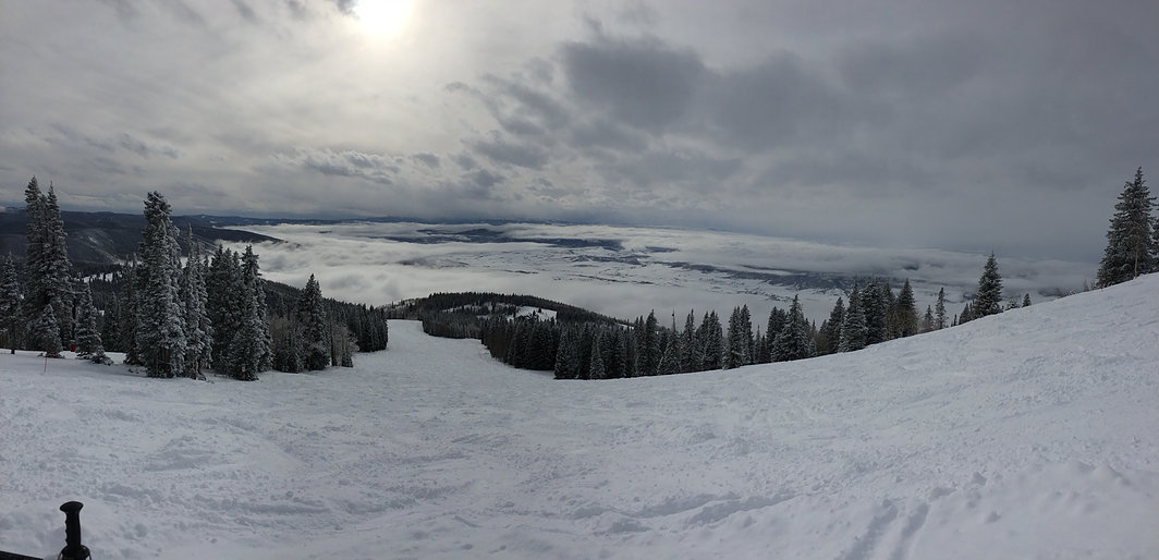 A view of Steamboat from Mt. Werner