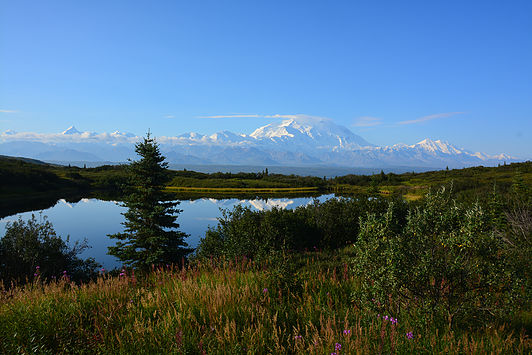 The mountain formerly known as Mt. McKinley