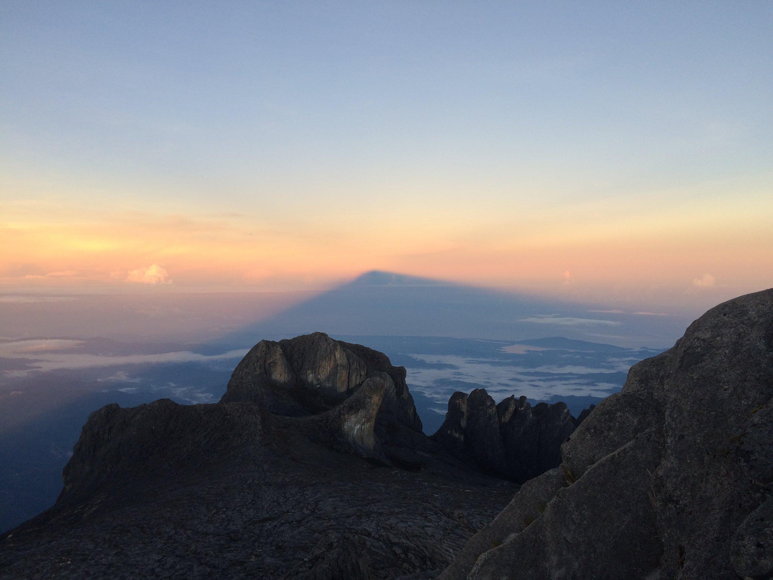 Sunrise at the summit!