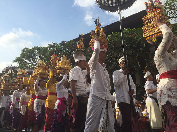 Celebrations abound in Bali